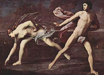 Atalanta by Guido Reni