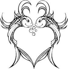 Pisces heart