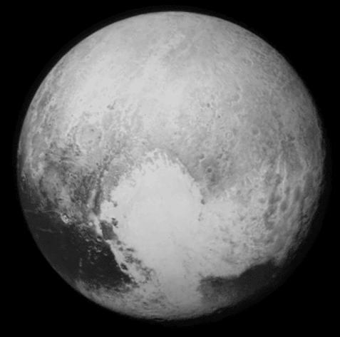 Pluto Has A Heart