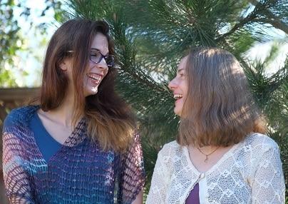 Julia and Jamie grinning redone