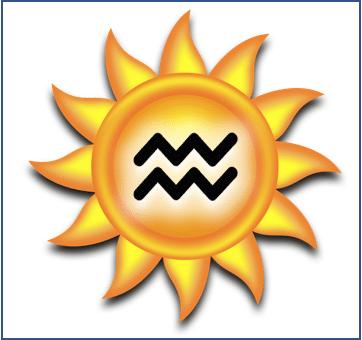 Aquarius Sun