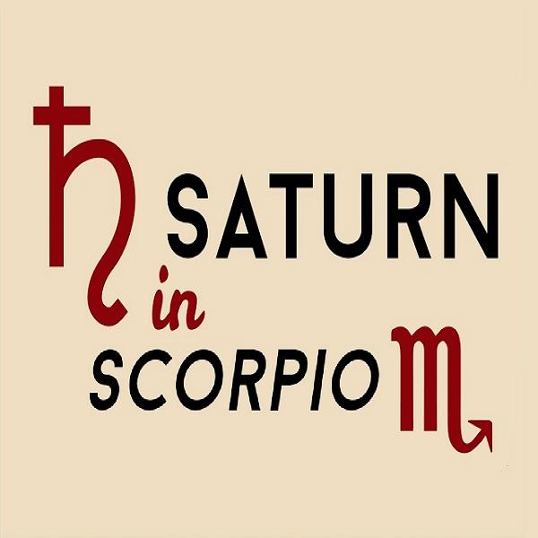 Scorpio Saturn